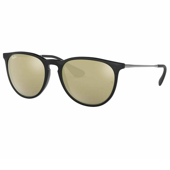 Ray-Ban Round Style Brown / Gold Gradient Lens.